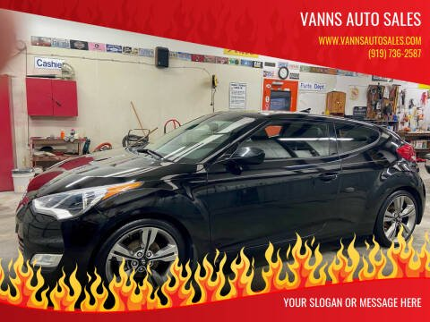 2014 Hyundai Veloster for sale at Vanns Auto Sales in Goldsboro NC