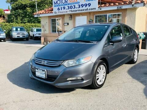 2010 Honda Insight for sale at MotorMax in Lemon Grove CA