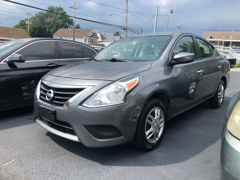 2017 Nissan Versa for sale at JB Auto Sales in Schenectady NY
