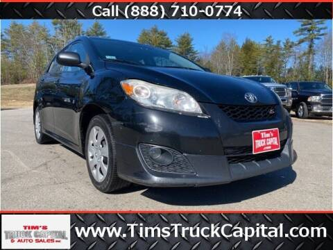 2009 Toyota Matrix for sale at TTC AUTO OUTLET/TIM'S TRUCK CAPITAL & AUTO SALES INC ANNEX in Epsom NH