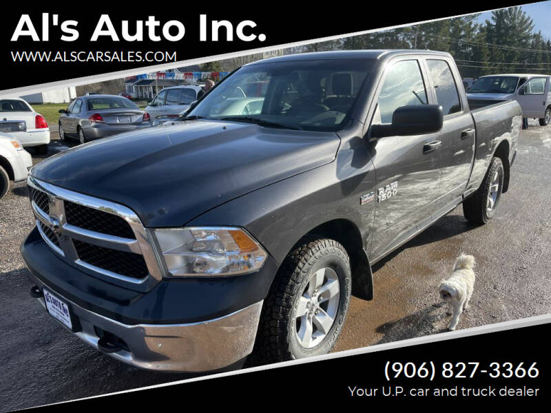 2014 RAM Ram Pickup 1500 for sale at Al's Auto Inc. in Bruce Crossing MI