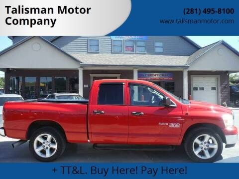2006 Dodge Ram Pickup 1500 for sale at Don Jacobson Automobiles in Houston TX