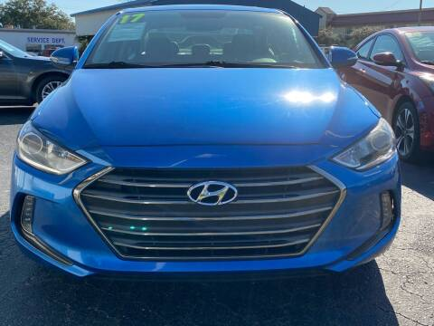 2017 Hyundai Elantra for sale at East Carolina Auto Exchange in Greenville NC