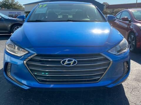 2017 Hyundai Elantra for sale at Washington Motor Company in Washington NC