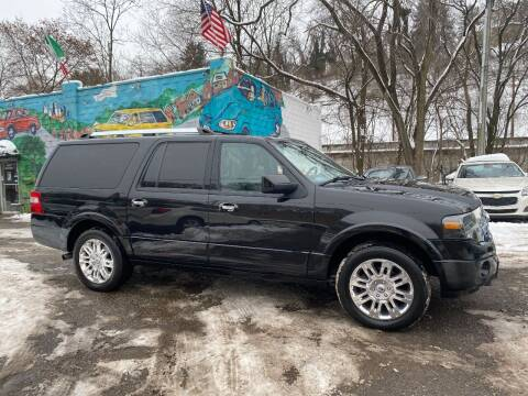 2012 Ford Expedition EL for sale at Showcase Motors in Pittsburgh PA