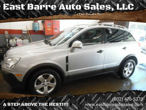 2012 Chevrolet Captiva Sport for sale at East Barre Auto Sales, LLC in East Barre VT