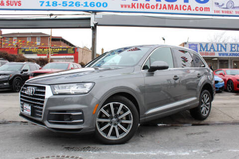2018 Audi Q7 for sale at MIKEY AUTO INC in Hollis NY
