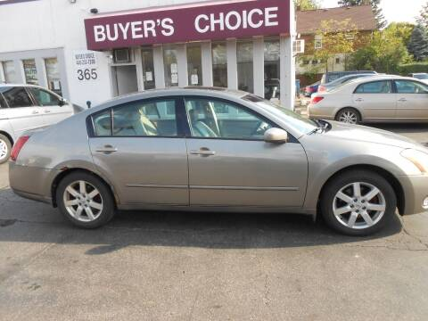 2004 Nissan Maxima for sale at Buyers Choice Auto Sales in Bedford OH