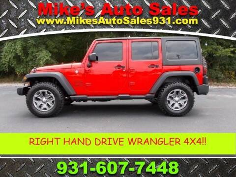 2016 Jeep Wrangler Unlimited for sale at Mike's Auto Sales in Shelbyville TN