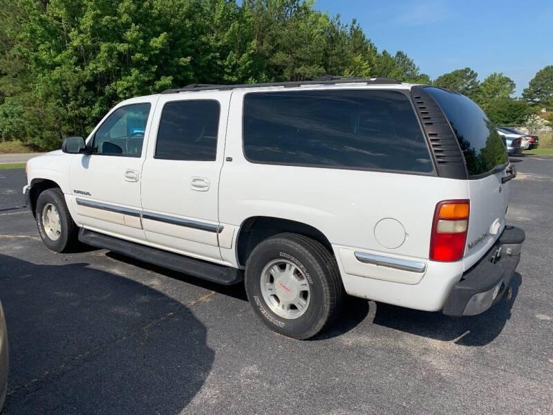2001 GMC Yukon XL 1500 SLT 4WD 4dr SUV - Henrico NC
