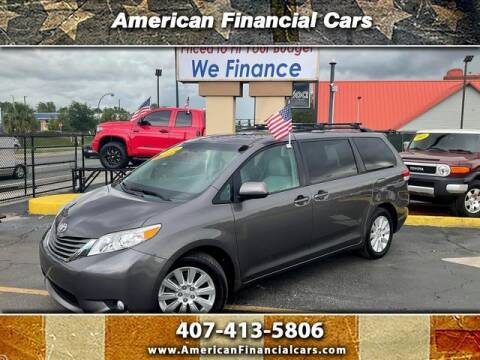 2014 Toyota Sienna for sale at American Financial Cars in Orlando FL
