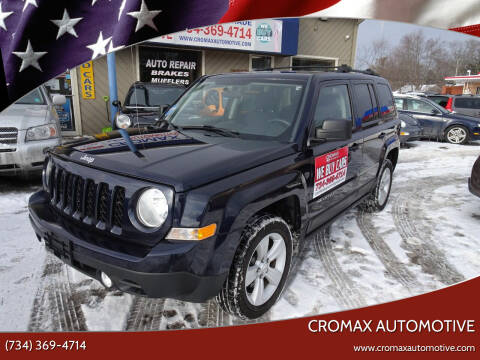 2011 Jeep Patriot for sale at Cromax Automotive in Ann Arbor MI