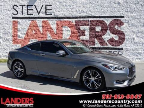 2018 Infiniti Q60 for sale at The Car Guy powered by Landers CDJR in Little Rock AR