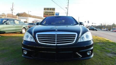2008 Mercedes-Benz S-Class for sale at Atlanta Fine Cars in Jonesboro GA