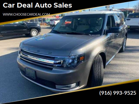 2014 Ford Flex for sale at Car Deal Auto Sales in Sacramento CA