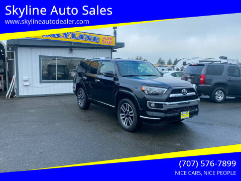 2019 Toyota 4Runner for sale at Skyline Auto Sales in Santa Rosa CA