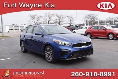 2021 Kia Forte for sale at BOB ROHRMAN FORT WAYNE TOYOTA in Fort Wayne IN