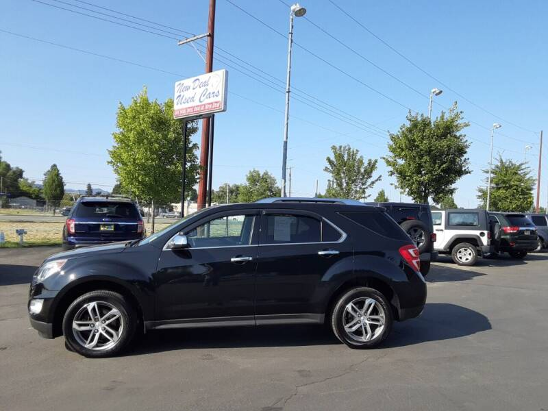 2016 Chevrolet Equinox for sale at New Deal Used Cars in Spokane Valley WA
