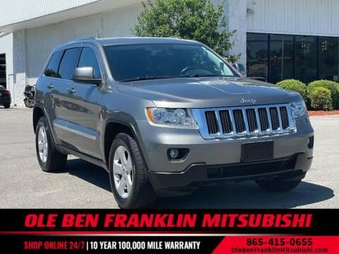 2012 Jeep Grand Cherokee for sale at Ole Ben Franklin Mitsbishi in Oak Ridge TN