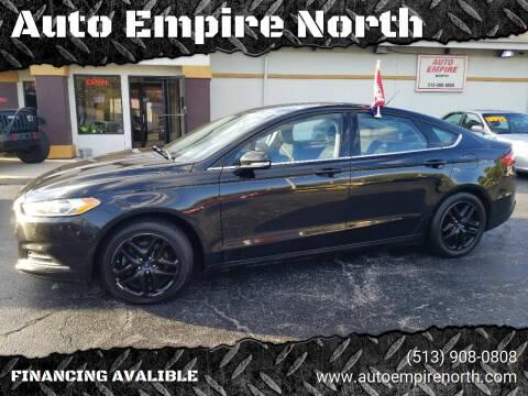2014 Ford Fusion for sale at Auto Empire North in Cincinnati OH