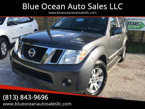 2012 Nissan Pathfinder for sale at Blue Ocean Auto Sales LLC in Tampa FL