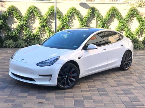 2020 Tesla Model 3 for sale at ROGERS MOTORCARS in Houston TX