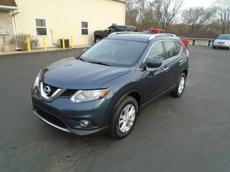 2016 Nissan Rogue for sale at Ritchie Auto Sales in Middlebury IN