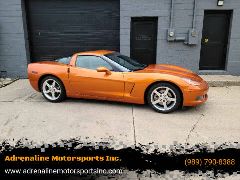 2007 Chevrolet Corvette for sale at Adrenaline Motorsports Inc. in Saginaw MI