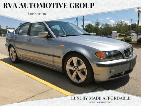 2004 BMW 3 Series for sale at RVA Automotive Group in North Chesterfield VA