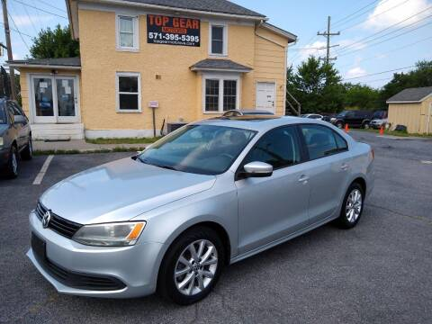 2011 Volkswagen Jetta for sale at Top Gear Motors in Winchester VA
