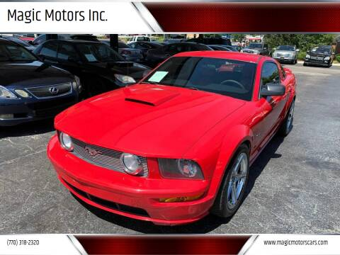 2008 Ford Mustang for sale at Magic Motors Inc. in Snellville GA