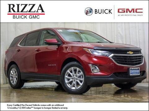 2018 Chevrolet Equinox for sale at Rizza Buick GMC Cadillac in Tinley Park IL