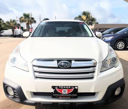 2013 Subaru Outback for sale at Car Ex Auto Sales in Houston TX
