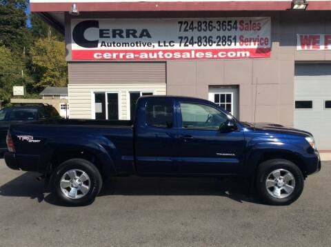 2013 Toyota Tacoma for sale at Cerra Automotive LLC in Greensburg PA