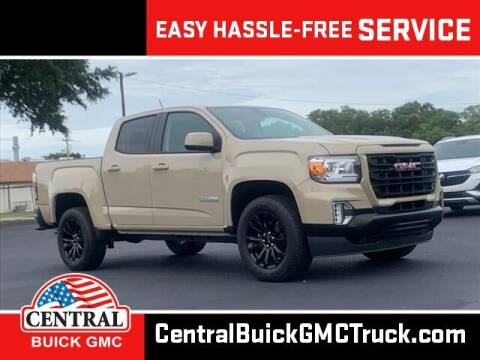 2021 GMC Canyon for sale at Central Buick GMC in Winter Haven FL