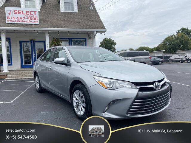 2017 Toyota Camry for sale at Ron's Auto Sales (DBA Select Automotive) in Lebanon TN