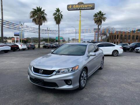 2015 Honda Accord for sale at A MOTORS SALES AND FINANCE in San Antonio TX