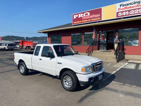 2011 Ford Ranger for sale at Pro Motors in Roseburg OR