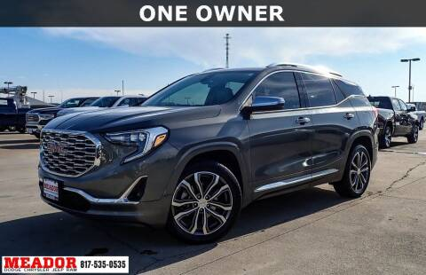 2018 GMC Terrain for sale at Meador Dodge Chrysler Jeep RAM in Fort Worth TX