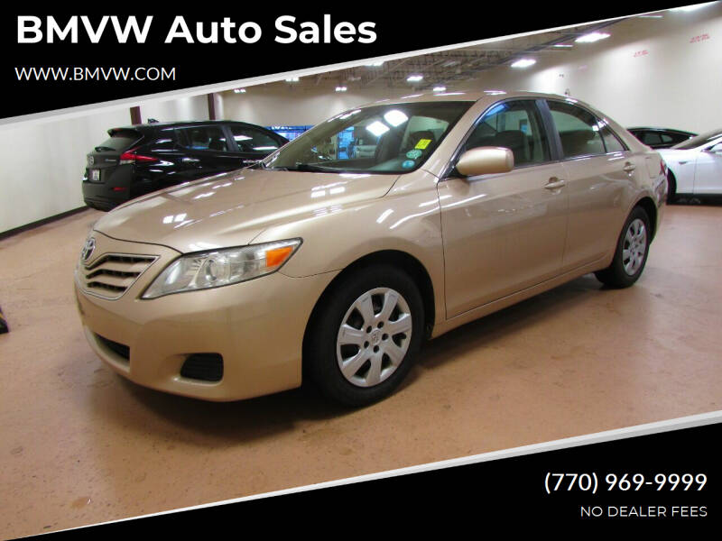 2010 Toyota Camry for sale at BMVW Auto Sales in Union City GA