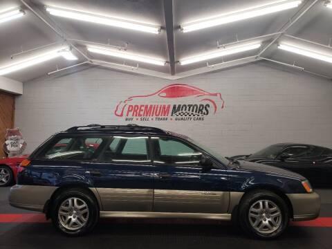 2004 Subaru Outback for sale at Premium Motors in Villa Park IL