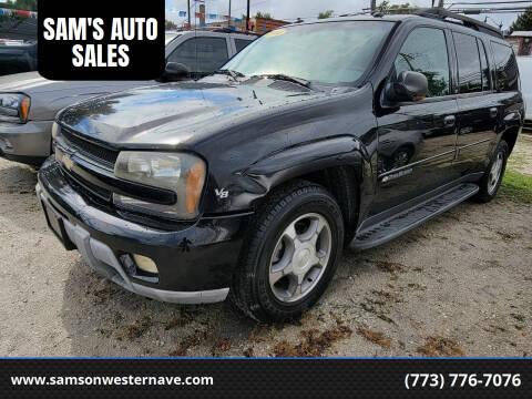 2004 Chevrolet TrailBlazer EXT for sale at SAM'S AUTO SALES in Chicago IL
