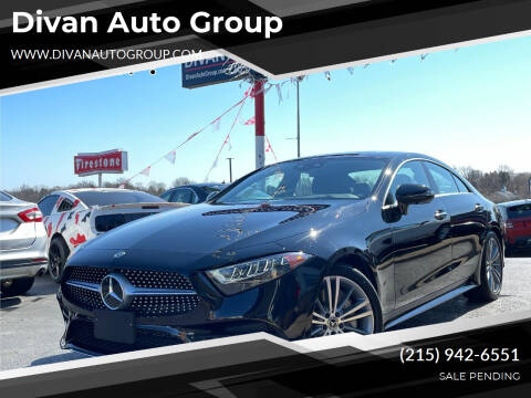 2019 Mercedes-Benz CLS for sale at Divan Auto Group in Feasterville Trevose PA