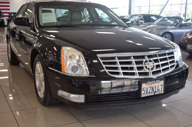 2007 Cadillac DTS for sale at Legend Auto in Sacramento CA
