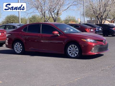 2018 Toyota Camry for sale at Sands Chevrolet in Surprise AZ