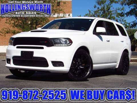 2018 Dodge Durango for sale at Hollingsworth Auto Sales in Raleigh NC