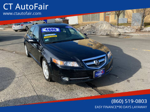 2008 Acura TL for sale at CT AutoFair in West Hartford CT