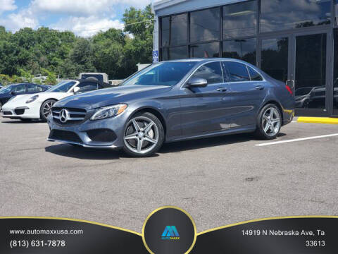 2015 Mercedes-Benz C-Class for sale at Automaxx in Tampa FL