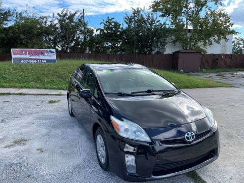2011 Toyota Prius for sale at Detroit Cars and Trucks in Orlando FL