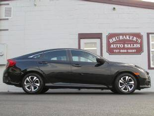 2017 Honda Civic for sale at Brubakers Auto Sales in Myerstown PA